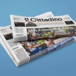 """Da : """"Il Cittadino """"di Giovedì 5 Agosto"""